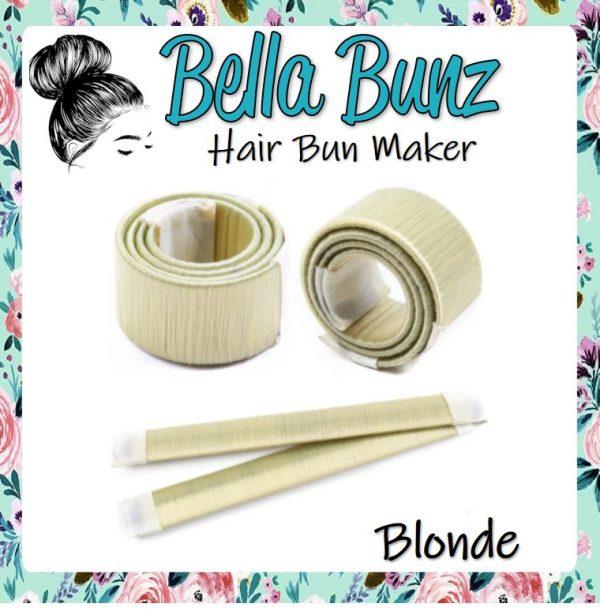 Bella Bunz Hair Bun Maker Blonde
