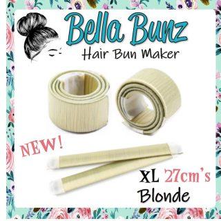 Blond Hair Bun Maker