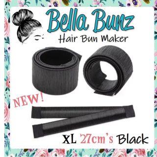 Black Hair Bun Maker