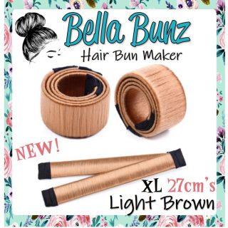 Light Brown Hair Bun Maker