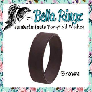 Bella Ringz: Brown Hair Bun Maker